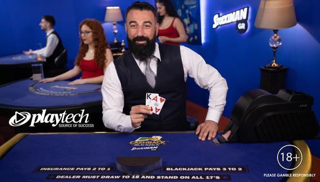 Live Cashback Blackjack