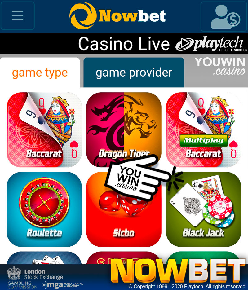 Play Online Blackjack with Various of Casino Games on NOWBET (เล่นแบล็คแจ็คออนไลน์)