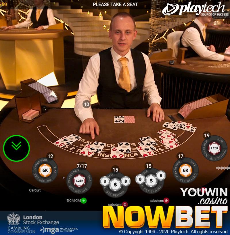 Royale Blackjack แบบ 7 ที่นั่ง กับโอกาสในการเรียนรู้จากผู้เล่นท่านอื่น