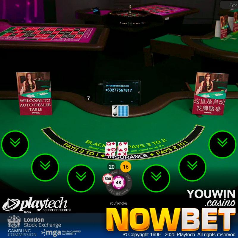 Auto Live Blackjack จาก Playtech ใช้ระบบ RNG ที่แม่นยำ ปลอดภัย เชื่อถือได้